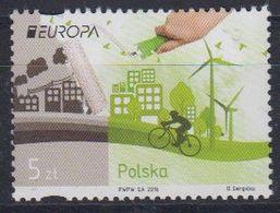 Europa Cept 2016 Poland 1v ** Mnh (45449F) - Europa-CEPT
