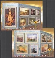 ST347 2016 SIERRA LEONE ART MASTERPICES OF ROMANTISM KB+BL MNH - Arts
