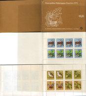 Yugoslavia 1978 New Year - Animals And Flowers, Booklet, MNH (**) Michel 1771-1776 - Markenheftchen