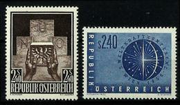 Austria Nº 859/60 Charnela. Cat.13€ - 1945-.... 2ª República