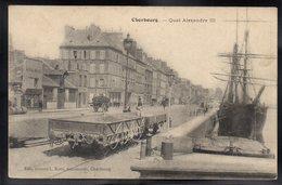 CHERBOURG 50 - Quai Alexandre III - Editions Ratti - #B550 - Cherbourg