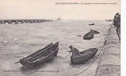 SABLES D OLONNE(BATEAU DE PECHE A LA DERIVE) - Sables D'Olonne