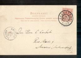 Haamstede Grootrond - 1906 - Postal History