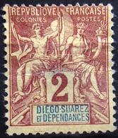 DIEGO-SUAREZ                    N° 26                    NEUF SANS GOMME      (aminci) - Unused Stamps