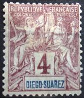 DIEGO-SUAREZ                    N° 40                    NEUF* - Unused Stamps