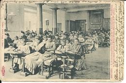 Brugge - Bruges SUGG Kaart N° 159  Kantwerkschool - L' Ecole Dentelliére Afgestempeld Oostkamp 1905 - Brugge