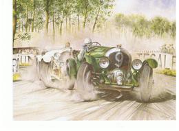 CPM PC45 Duel At LE MANS June 1930 Birkin Blower Bentley & 38/250 HP SS Mercédes Benz - Cartes Postales