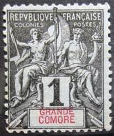 GRANDE COMORE                   N° 1                    NEUF SANS GOMME - Ongebruikt