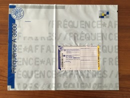 PAP FREQUENCE AFFAIRE A 3000, SANS N° INDIGO AU VERSO - Neuf, Non Circulé - Plié - Biglietto Postale