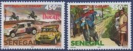 Sénégal 2007 29e Rallye Paris Dakar Motocross Motorcycle Motorsport Voiture Car Sport 2 Val. RARE  **MNH - Senegal (1960-...)