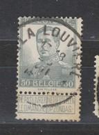 COB 115 Oblitération Centrale LA LOUVIERE - 1912 Pellens