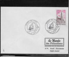 Thème Oiseaux - France Oblitération - Enveloppe - Mechanical Postmarks (Advertisement)