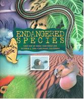 Encart Endangered Species - Premier Jour Zoo De San Diego 02/10/96 - USPS 1996 - Altri