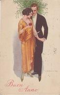 """ILLUSTRATORE - T. CORBELLA - """"BUON ANNO"""" 1924 - Corbella, T."""