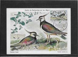 Thème Oiseaux - France Oblitération - Carte Maximum - Mechanical Postmarks (Advertisement)