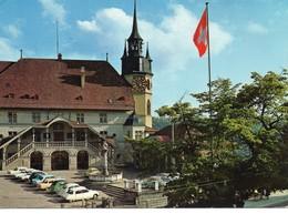 Fribourg Hôtel De Ville Voitures DS Citroën - FR Freiburg