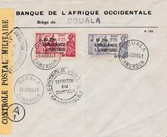 N° 247 N° 248 S / Env Censurée T.P. Ob Douala 24 Juin 1941 - Kamerun (1915-1959)