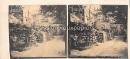 PHOTO STEREO 1914/1918 HIRZSTEIN SUNDGAU Hartmannswillerkopf - Frankrijk