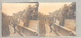 PHOTO STEREO 1914/1918 TRANCHEE  SUNDGAU - Frankreich
