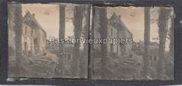 PHOTO STEREO 1914/1918  WATTWILLER   SUNDGAU Hartmannswillerkopf - Frankrijk
