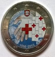Portugal - 2 Euros Couleurs - 2015 - 150 Ans Croix-Rouge Portugaise_v2 - Portugal