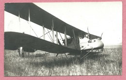 Carte Photo Allemande - Foto - Avion - Aircraft - Flugzeug - Guerre 14/18 - Guerra 1914-18