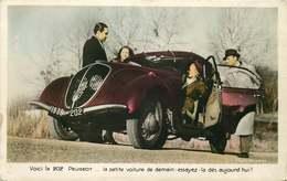 AUTOMOBILE  202 PEUGEOT  La Petite Voiture De Demain - Passenger Cars