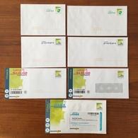 """Lot De 7 PRETS A POSTER : Lettre Verte """"Feuille De Chêne"""" Et Lettre Prioritaire/suivie/max """"carte De France"""" - Neufs ** - Biglietto Postale"""