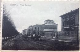 Cesena,   Viale Carducci.......circa 1910 - Cesena