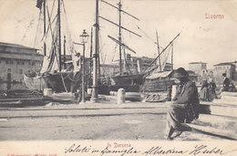 Livorno - In Darsena - 1901       (A-151-190703) - Livorno