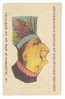 Chromo Tailleur Au 1er Rue St-Augustin, Paris , Système 2 Têtes / Caricatures Représentées, Chicois (tête Bêche) - Sonstige