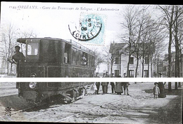 ORLEANS GARE DES TRAMWAYS - Ervy-le-Chatel