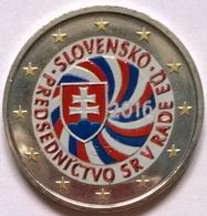 Slovaquie - 2 Euros Couleurs - 2016 - Présidence UE - Slowakije