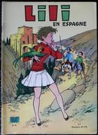 BD L'ESPIEGLE LILI - 41 - Lili En Espagne - EO 1970 Les Beaux Albums De La Jeunesse Joyeuse - Lili L'Espiègle