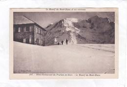 CPA :  14 X 9  -  247.  -  Hôtel-Restaurant Du Prarion En Hiver. - Le Massif Du Mont-Blanc - Saint-Gervais-les-Bains