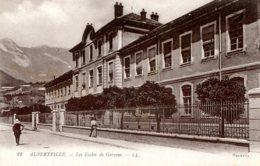 CPA - ALBERTVILLE - LES ECOLES DE GARCONS (ETAT PARFAIT) - Albertville