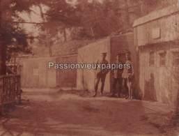 Petite PHOTO 1914/1918  Environs Du HARTMANNSWILLERKOPF ? SUNGAU - 13 ABRIS - France