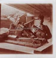 3 Petites PHOTOS 1914/1918  CANONS ARTILLERIE  Environs Du HARTMANNSWILLERKOPF ? SUNGAU - Frankrijk