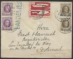 Belgien - R - Brief  18.03.1920 / Charleroi Nach Engersdorf Bei Wien ( Österreich ) / Siehe Fotos - Belgio