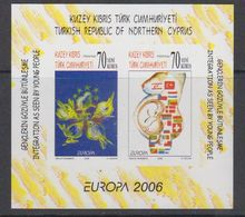Europa Cept 2006 Northern Cyprus M/s Imperforated  ** Mnh (45451A) ROCK BOTTOM - 2006