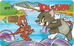 UK - BT (Chip) - BCC-146 - PRO404 - Tom & Jerry (Loch Ness), 3£, 1.200ex, Used - Reino Unido