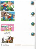 Lot 4 Entiers Postaux France 98 Football Neufs - Lots Et Collections : Entiers Et PAP