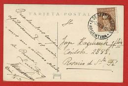 Zichtkaart Buenos Aires Stempel 6 De Septiembre 85 Argentina;;; 8  Abr 39 -20 - Argentina