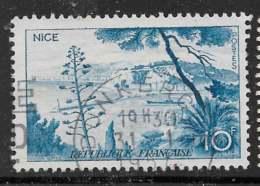Maury 1038  - 10 F Nice - O - Oblitérés