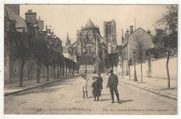 18 - BOURGES - Boulevard De Strasbourg - Aux Dames De France 6 - 1910 - Bourges