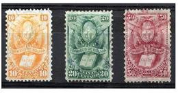 1878 Bolivia 3v. - Bolivie