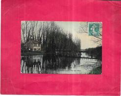 PINTERVILLE - 27 - CPA COLORISEE - Vue Sur L'Eure - BES3 - - Pinterville