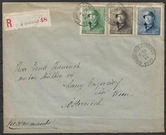 Belgien - R - Brief  10.06.1920 / Ecaussinnes Nach Engersdorf Bei Wien ( Österreich ) / Siehe Fotos - Belgio