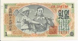 1 Won 1947 - Corea Del Nord