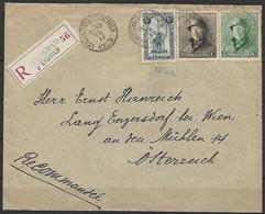 Belgien - R - Brief  15.04.1920 / Ecaussinnes Nach Engersdorf Bei Wien ( Österreich ) / Siehe Fotos - Belgio